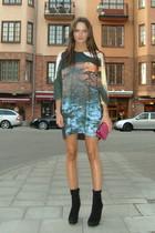 H&M sweater - Zara shoes - Miu Miu purse