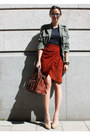 Monki-jacket-chloe-bag-aldo-pumps-vintage-skirt-acne-t-shirt-proenza-s