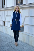 navy Choies coat