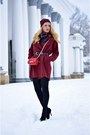 Black-jessica-buurman-boots-black-oasap-dress-brick-red-sheinside-coat