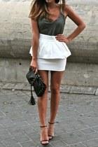 peplum skirt Forever 21 skirt - basic Forever 21 blouse