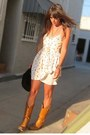 Tawny-cowboy-thrifted-vintage-boots-ivory-silk-bb-dakota-dress