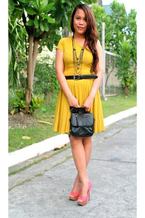 mustard Primadonna dress