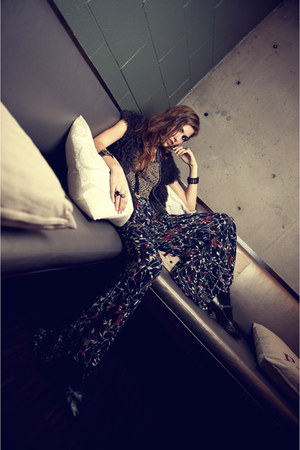floral lucca couture pants