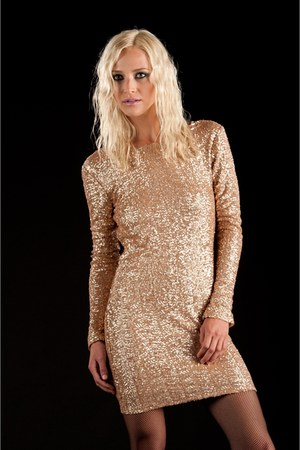 sequins lucca couture dress
