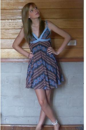 blue wish dress