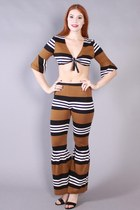 60s Striped Set
