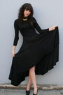 Black Vintage Dresses