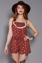 Lucky-vintage-romper
