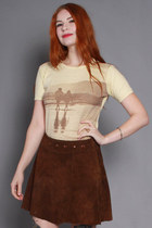 60s Suede Skirt
