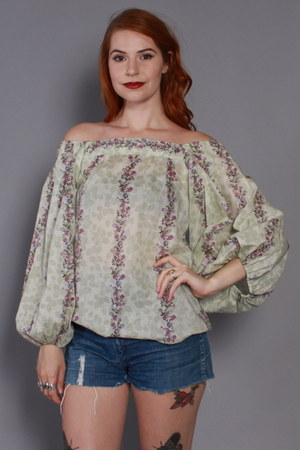 victor costa blouse