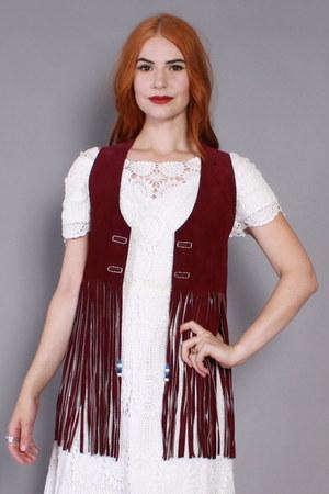 Co-op Leathers vest