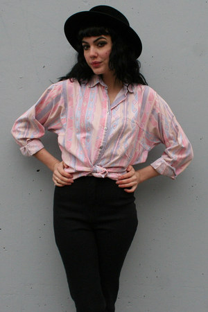 light pink vintage shirt
