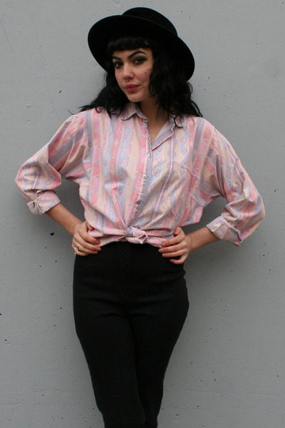 light pink vintage shirt