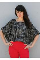 Black-vintage-blouse