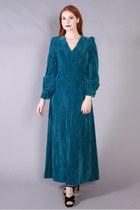 70s Velvet Dress