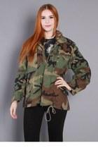 80s Camo Military Jacket