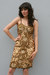 gold vintage dress