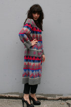 Heather Gray Vintage Coats