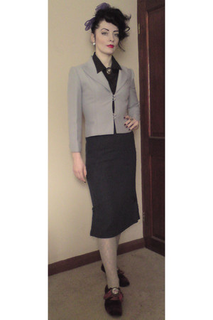 periwinkle peggy french blazer