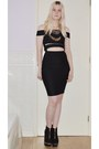 Black-new-look-boots-black-cut-out-winkgal-dress