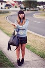 Black-sportsgirl-boots-black-chicabooti-skirt-heather-gray-missguided-jumper