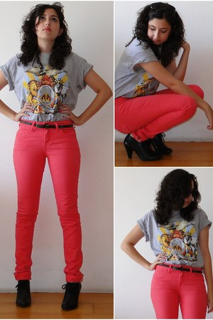 Zara pants - t-shirt