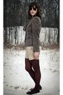 Brown-brooks-brothers-blazer-beige-j-crew-shorts-brown-target-tights-brown