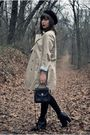 Beige-banana-republic-coat-silver-urban-outfitters-dress-black-seychelles-bo