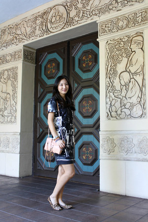 Zara dress - rebecca minkoff Rebecca Minkoff bag