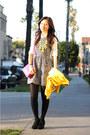 Black-madewell-dress-hot-pink-jcrew-bag