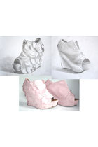 pink Lumedisco shoes - pink
