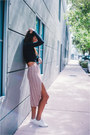 Reformation-skirt-aritzia-top