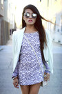 Bec-bridge-dress-mint-blazer-zara-blazer-coach-bag-coach-bag