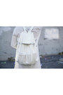 White-sheer-shirt-harper-trends-dress-white-mellow-world-bag