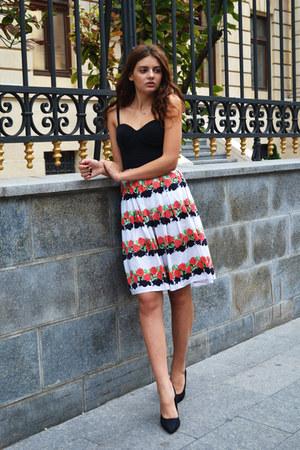 vintage skirt - New Yorker heels
