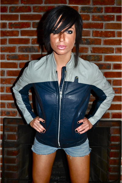 "Bmw Motorcycle Jacket >> Blue BMW Jackets | ""1980s BMW Cafe Racer Motorcycle Jacket ..."