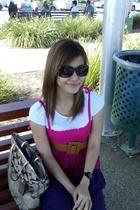 Valleygirl dress - supre belt