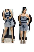Uberlove top - nose shoes - Fringe shoes - Valleygirl vest