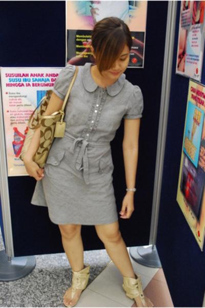 Miss Selfridge dress - SuiSui shoes