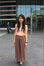 chiffon skirt skirt - charles&keith shoes