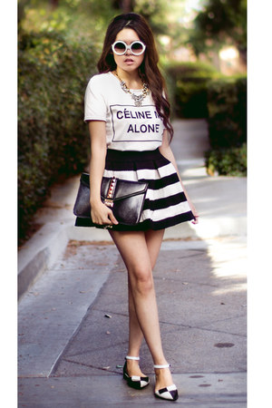 striped BangGood skirt