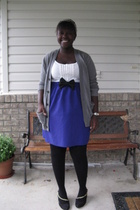 skirt - joe top - Gap sweater - joe tights