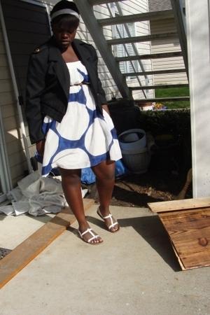 jacket - Gap dress - American Eagle shoes