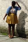 Thrifted-jean-jacket-gap-skirt-blouse-outlet-aldo-heels