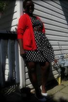 sweater - sunglasses - dress