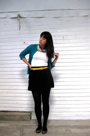 black Target skirt
