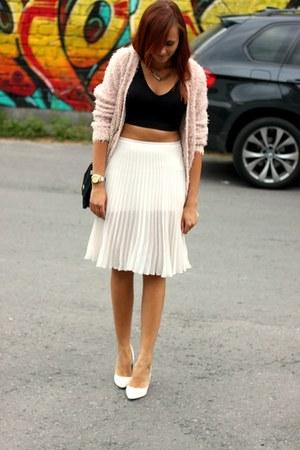 SH top - SH sweater - SH shirt - SH bag - SH heels