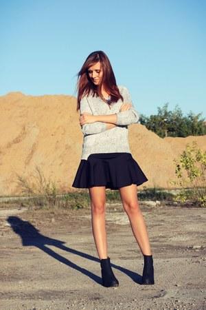 SH skirt - H&M boots