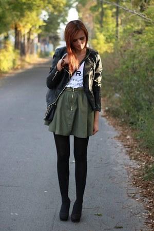 skirt - heels